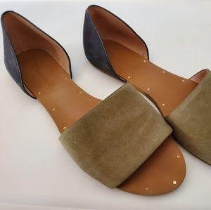 Women's Madewell Thea sandal in BritishSurplus/Ink